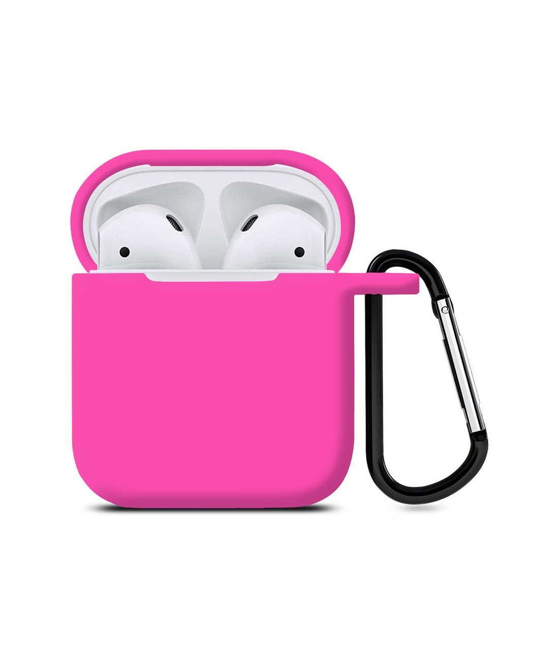 Silicone Case Fuschia Pink - AirPods Case