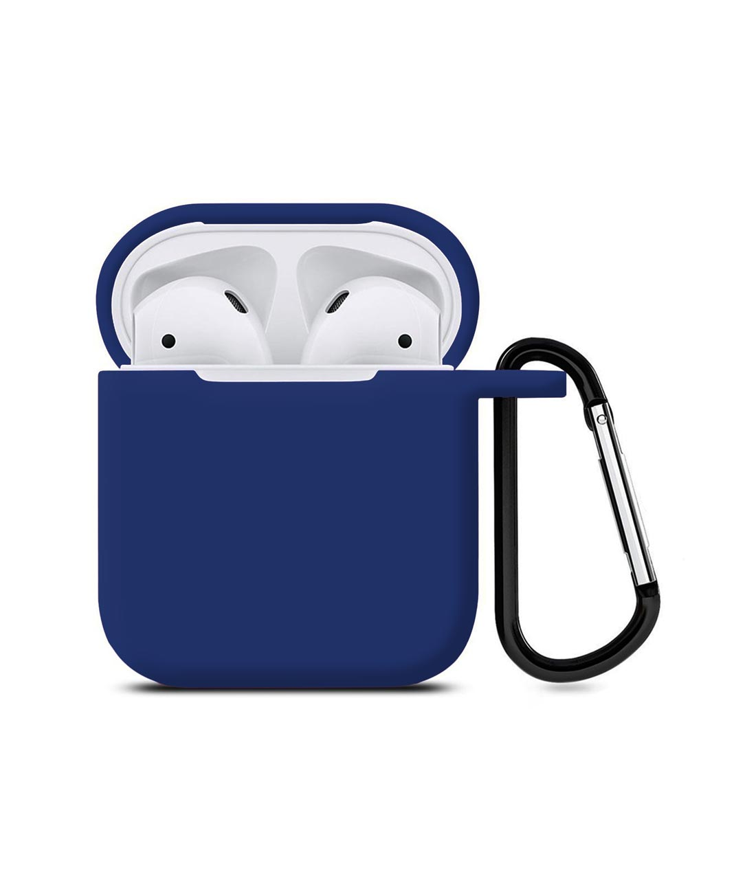 Silicone Case Navy Blue - AirPods Case