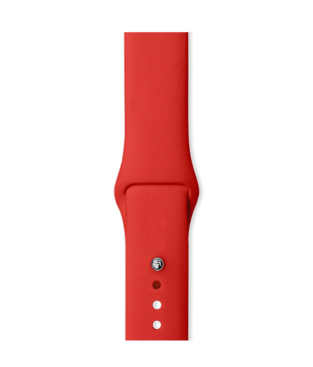 Crimson Red - Silicone Apple Watch Band  (42 / 44 MM)