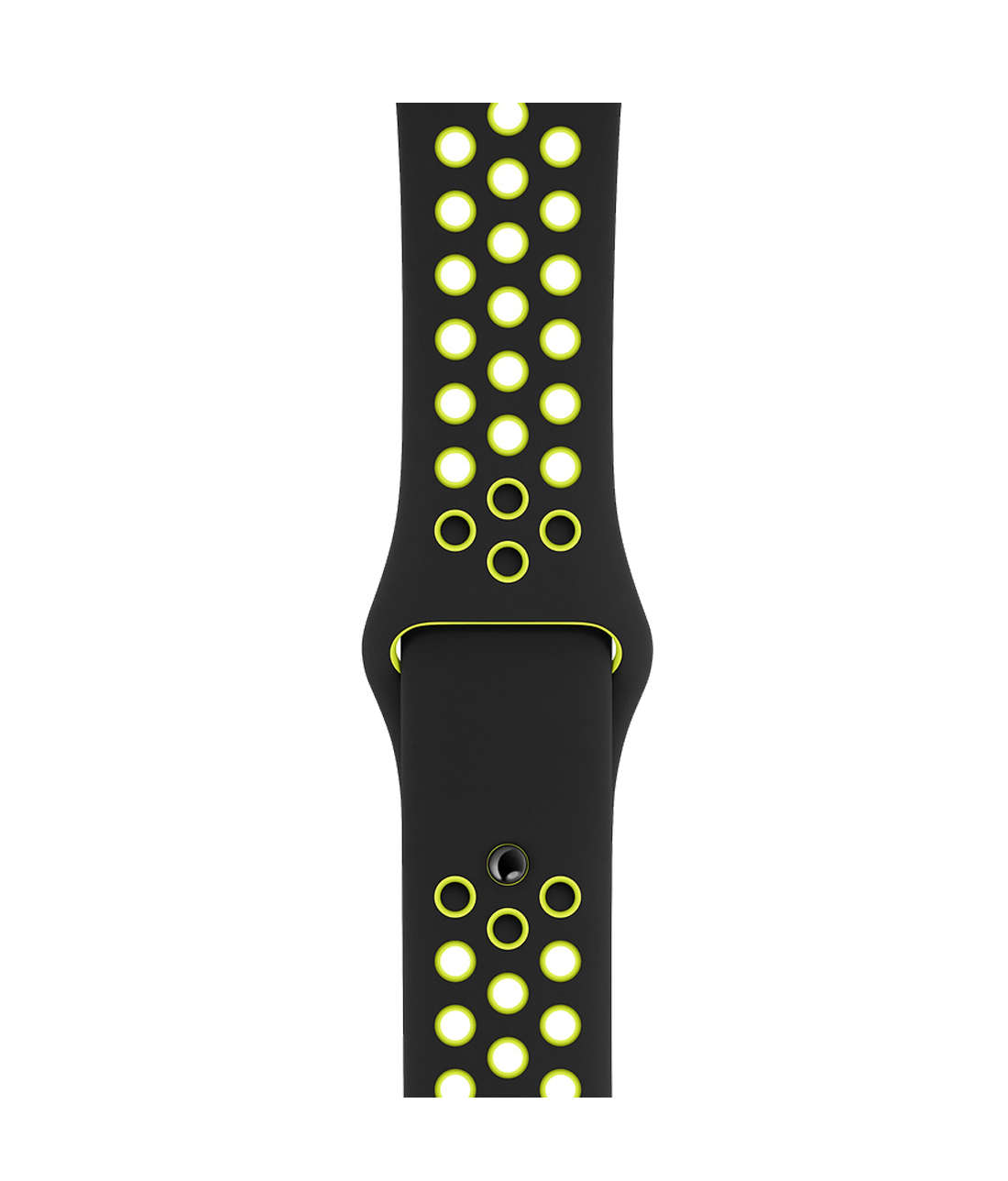 Neon Sporty Green - Silicone Apple Watch Band  (42 / 44 MM)