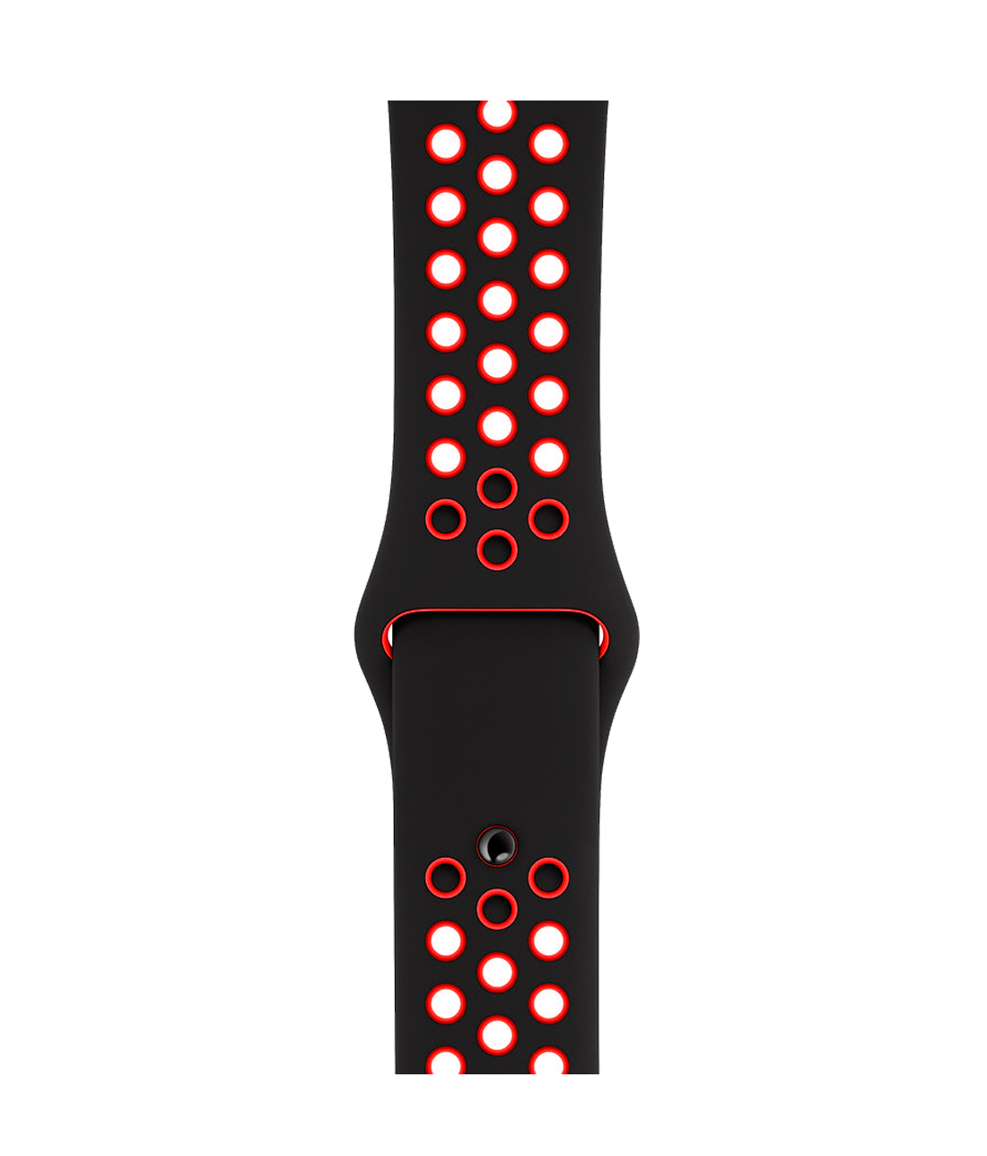 Neon Sporty Red - Silicone Apple Watch Band  (42 / 44 MM)