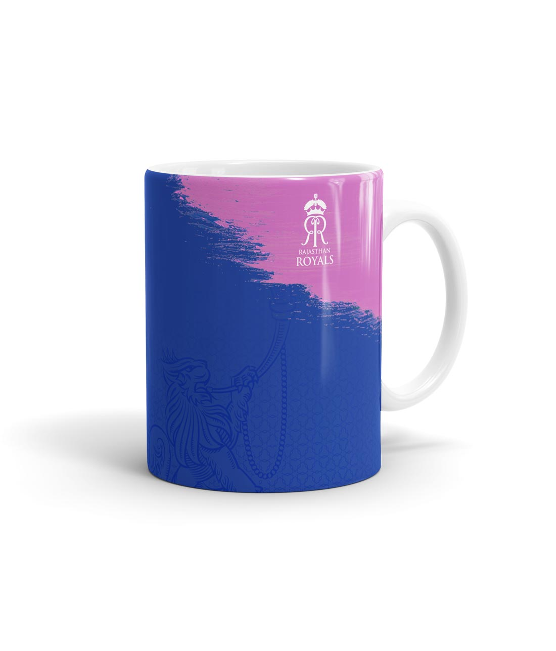 Rajasthan Royals Crest Blue - Coffee Mugs