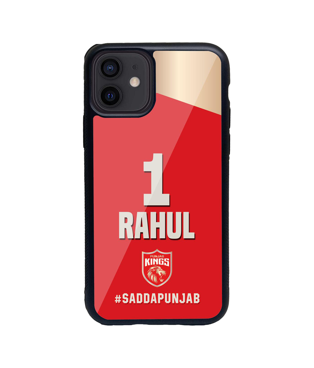 Punjab Kings Gear Up - Glass Case for iPhone 12