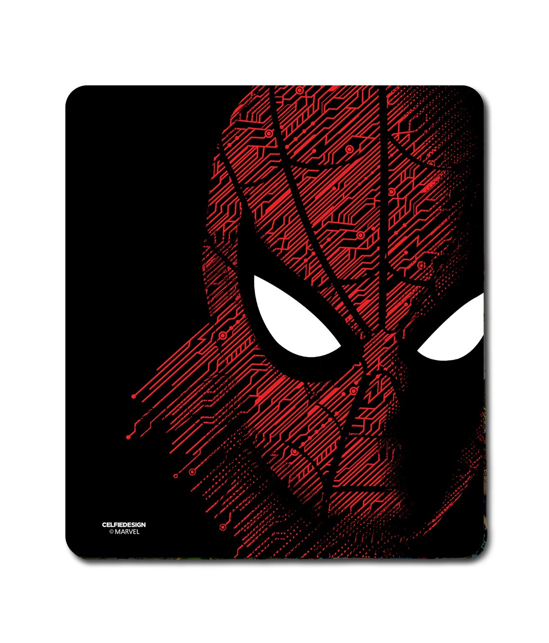 Sketch Out Spiderman - Mouse Pad