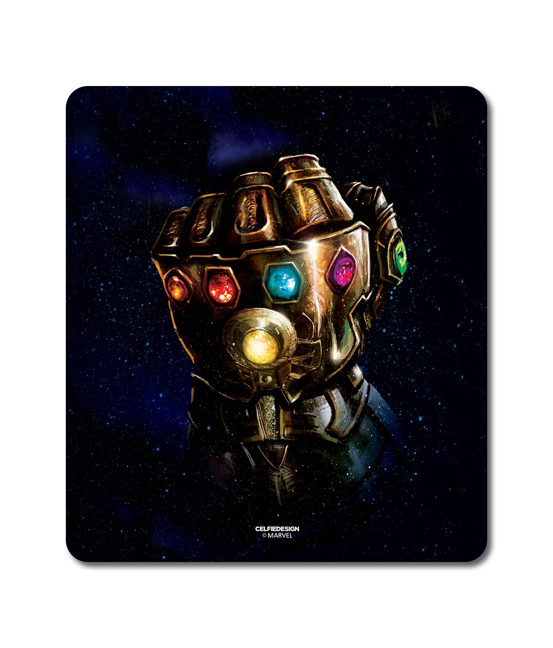 The Gauntlet Punch - Mouse Pad
