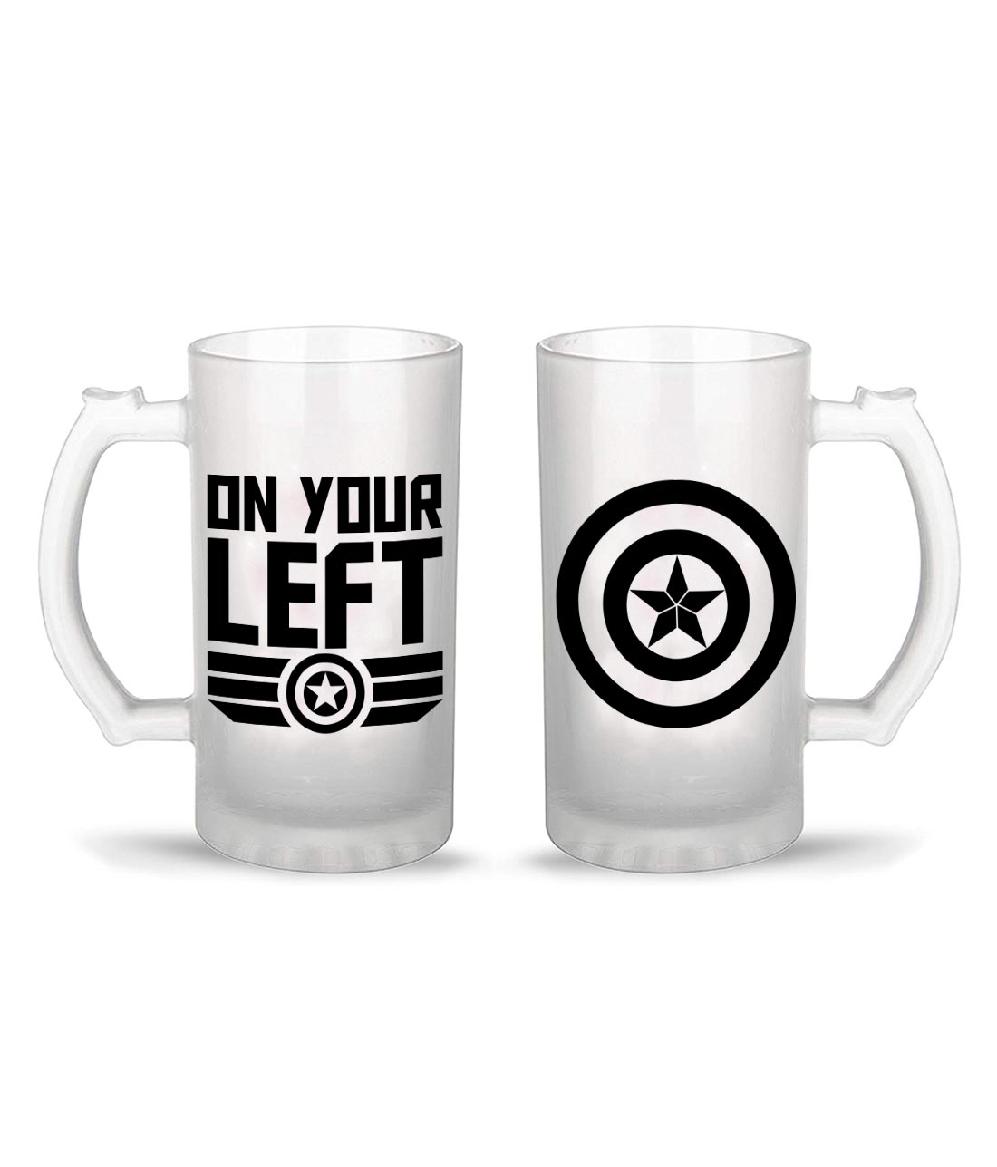 On your left - Party Mugs