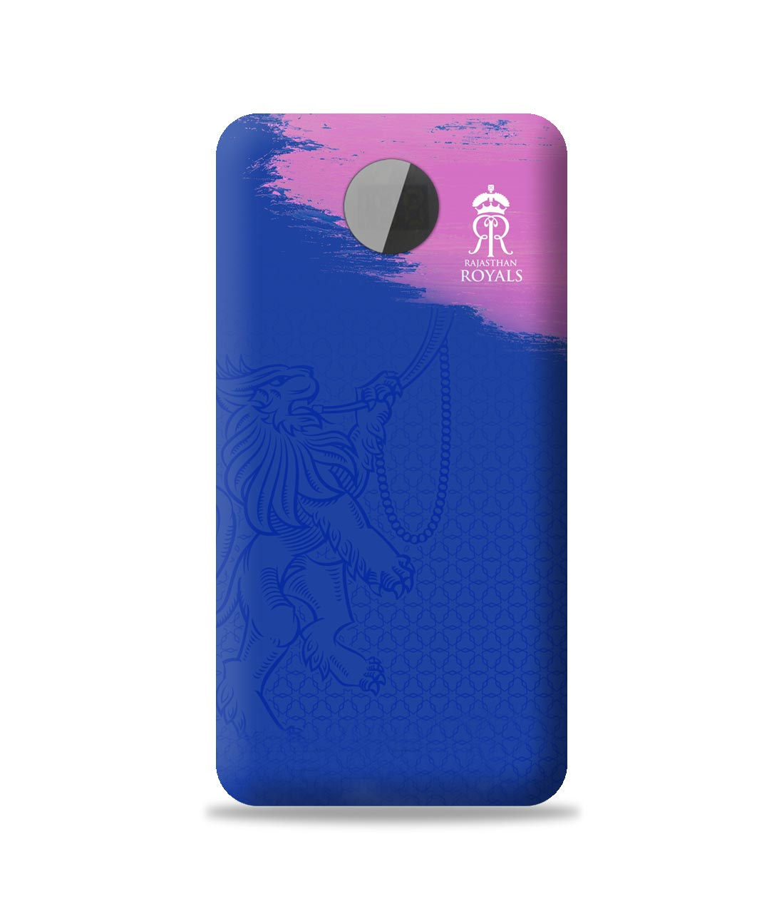 Rajasthan Royals Crest Blue - 10000 mAh Universal Power Bank