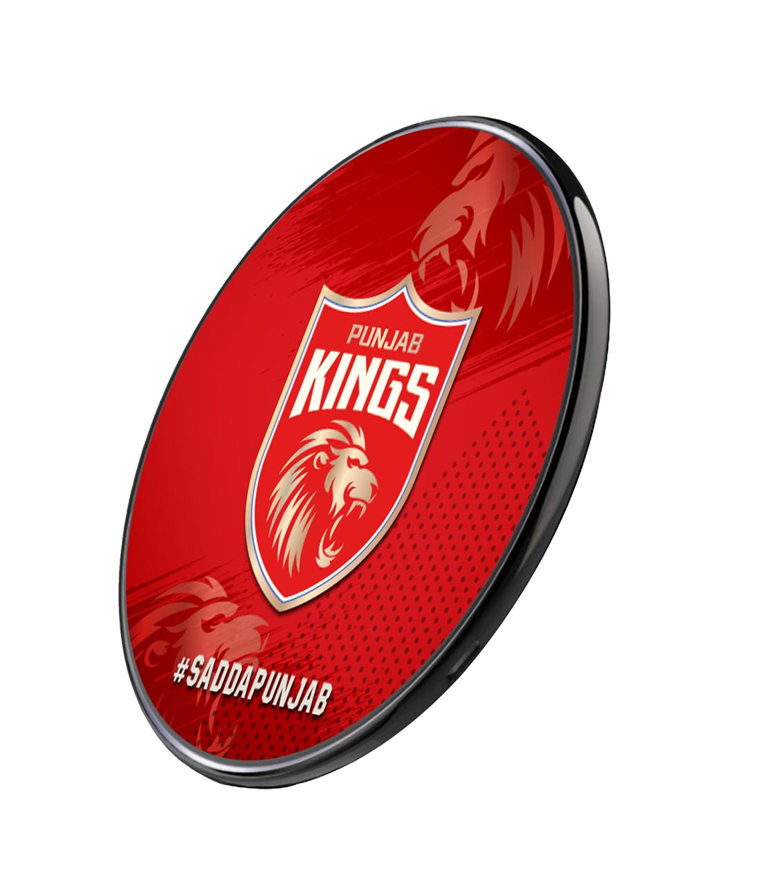 Punjab Kings Crest - Qi Compatible Pro Wireless Charger